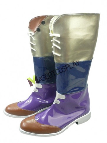 Final Fantasy 1 3/5'' Heel Faux Leather Cosplay Shoes