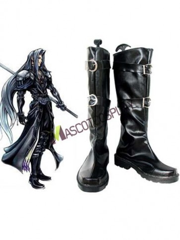 Final Fantasy Sephiroth Cosplay Imitated Leather Boots