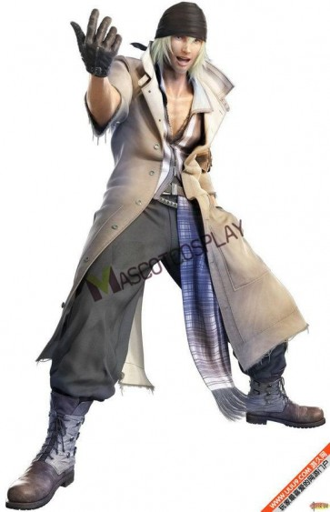 Final Fantasy XIII Snow Cosplay Costume