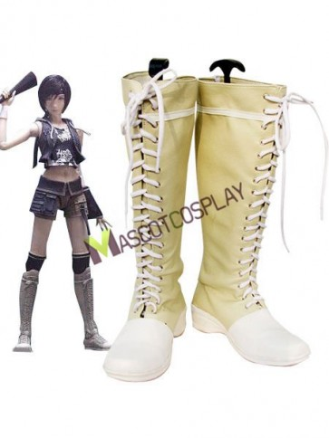 Final Fantasy Yuffie Kisaragi Imitated Leather Rubber Cosplay Shoes