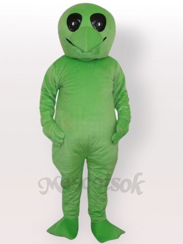 Green Alien Adult Mascot Costume