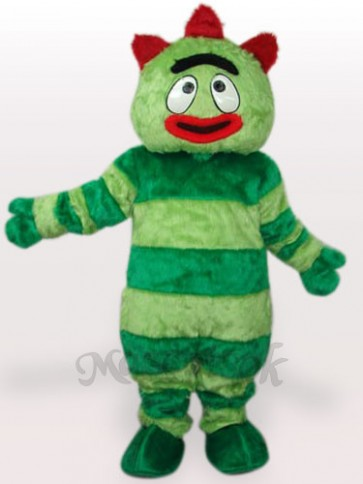 Yo Gabba Gabba Green Monster Short Plush Adult Mascot Costume
