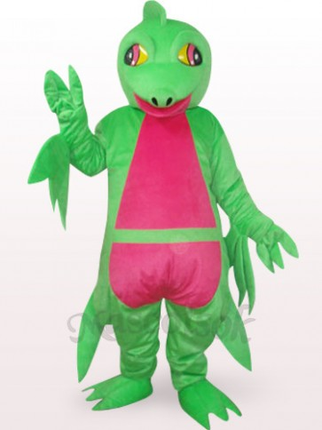Green Pterosaur Plush Mascot Costume