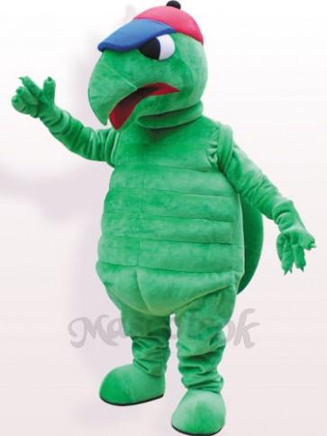 Green Tortoise Plush Adult Mascot Funny Costume