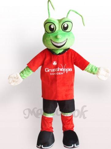 Green Frog Plush Adult Mascot Costume