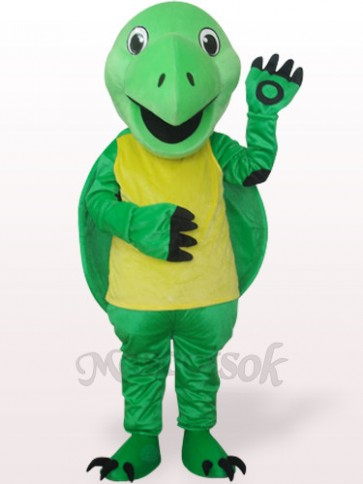 Green Tortoise Plush Adult Mascot Costume