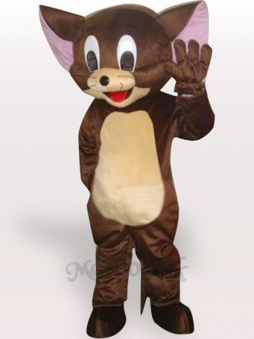 Jerry Mouse Short Plush Adult Mascot Costume