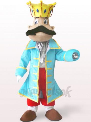 King Plush Adult Mascot Costume