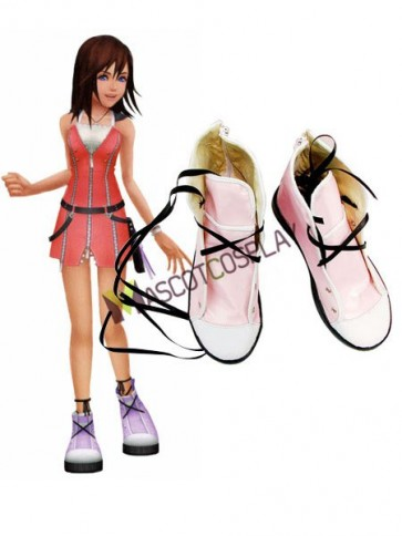 Kingdom Hearts Kairi Cosplay Imitated Leather Boots