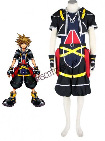 Kingdom Hearts Sora 1th cosplay Polyester Cosplay Costume