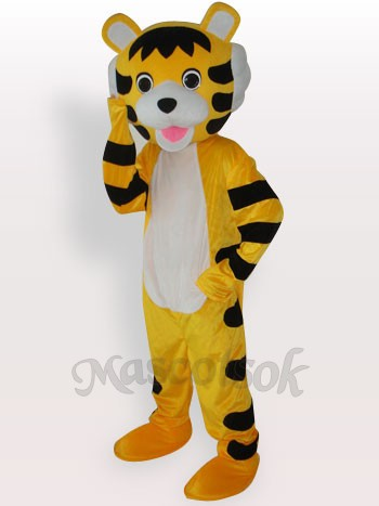 Little Tiger Short Plush Adult Mascot Costume