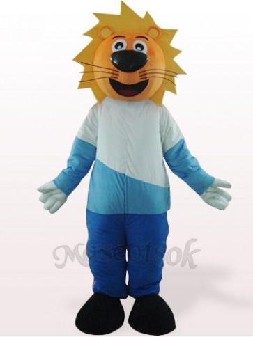 Lovely Yellow Head Leo Mascot Costume
