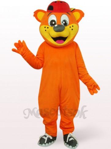 Lovely Yellow Male Pipi Bear Plush Adult Mascot Costume