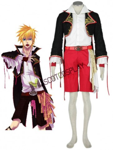 Modern Vocaloid 65% Cotton 35% Polyester Mens Cosplay Costume Outfit