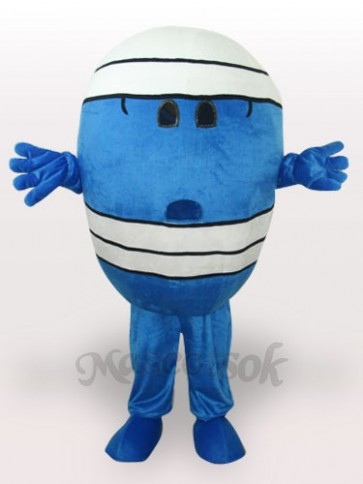 Mr Wrestling Short Plush Adult Mascot Costume
