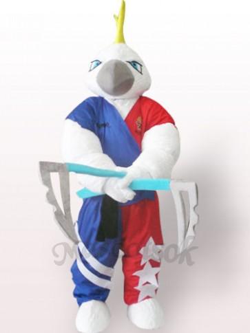 Muscle Eagle Plush Adult Mascot Costume