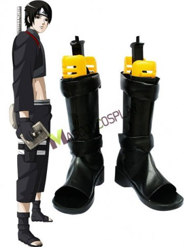 Naruto Cosplay Imitated Leather Boots