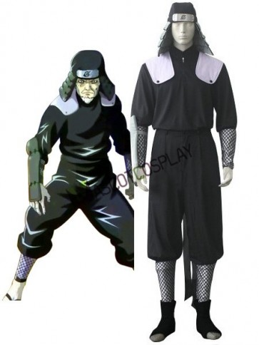 Naruto Hiruzen Sarutobi Uniform Cloth Cosplay Costume