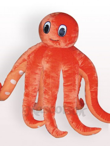 Octopus Plush Adult Mascot Costume