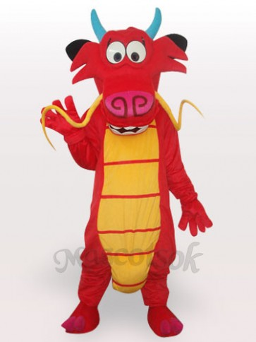 Omelet Dinosaur Short Plush Adult Mascot Costume