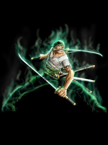 One Piece Roronoa Zoro Cosplay Costume