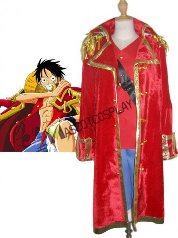 One Pieces Monkey D. Luffy Cosplay Costume