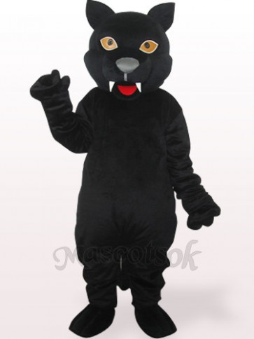 Panther Plush Adult Mascot Costume