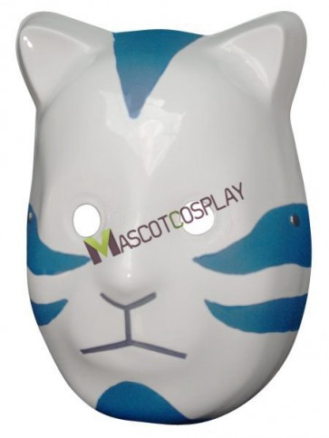 Popular White And Blue PVC Naruto Cosplay Mask