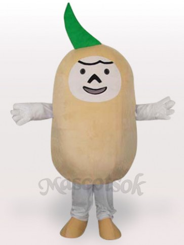 Potato Short Plush Adult Mascot Costume