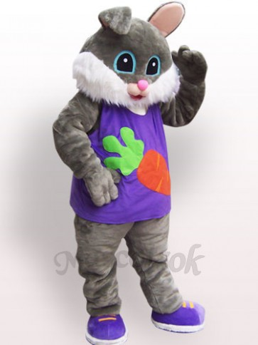 Easter Radish Rabbit Plush Adult Mascot Costume