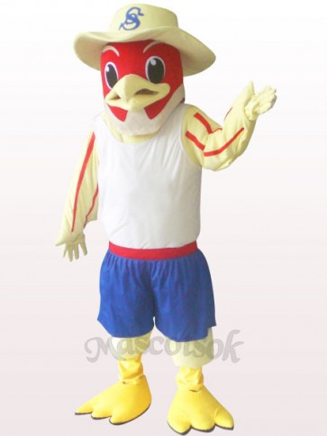 Red Bird Plush Adult Mascot Costume