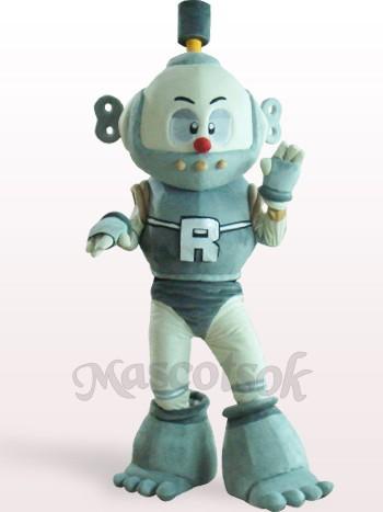 Robot Plush Adult Mascot Costume