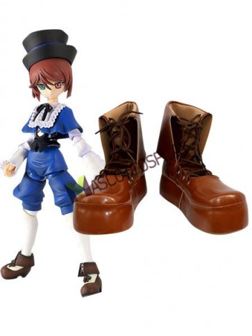 Rozen Maiden Souseiseki Imitated Leather Foam Cosplay Shoes