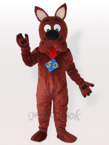 Scooby dog Adult Mascot Funny Costume