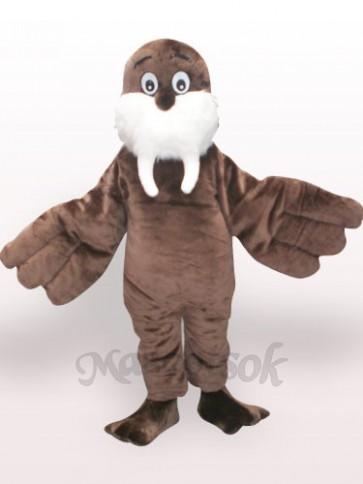 Sea Elephant Plush Adult Mascot Costume