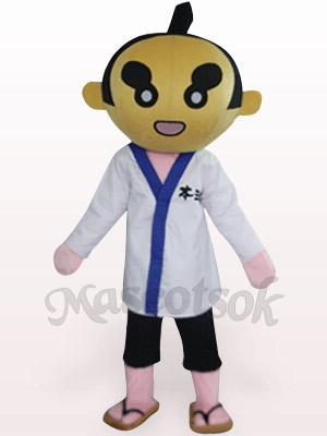 Sumoto People In White Clothes Plush Mascot Costume
