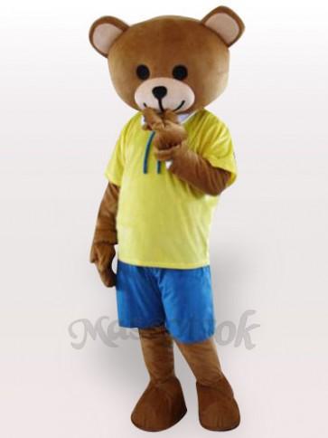 Teddy Bear Adult Mascot Costume