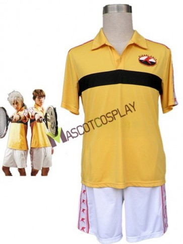 The Prince Of Tennis Cotton Polyester Summer Cosplay Costume