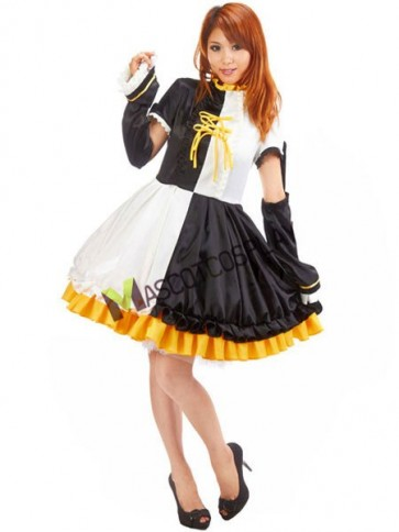 VOCALOID 65% Cotton 35% Polyester Cosplay Costume