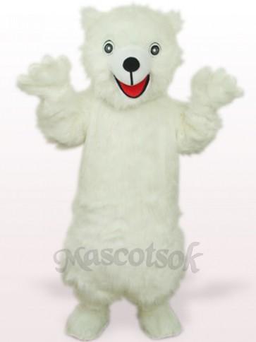 White Polar Bear Adult Mascot Costume