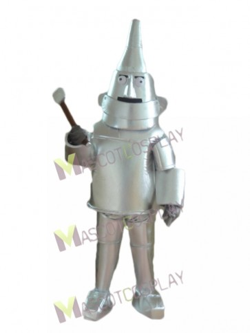 Silver Robot The Tin Man from The Wizard of OZ Mascot Costume