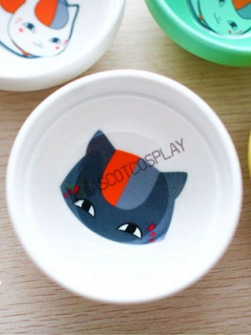 Cat Natsume's Book Of Friends Anime Ceramic Relish Plate