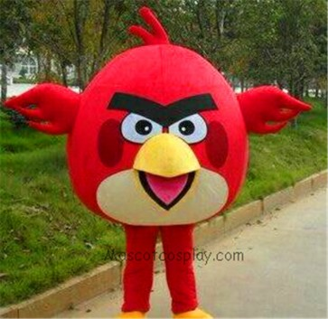 Movie Angry Birds Red Mascot Costume