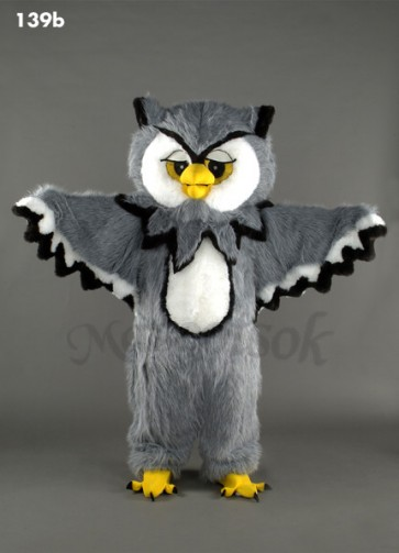 New Cool Owl Mascot Costume
