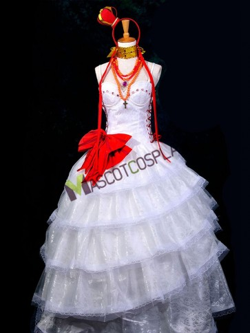 Gorgeous VOCALOID Luka Cosplay Costume