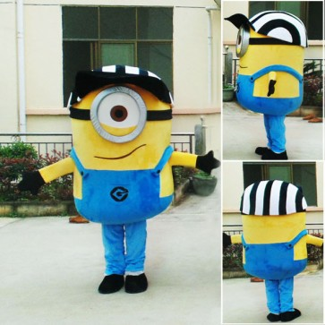 Despicable Me Minions Mascot Costume Custom Anime Cosplay Theme Fancydress Carnival Costume
