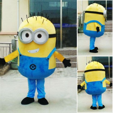 Despicable Me Minions Mascot Costume Custom Fancy Costume Anime Cosplay Carnival Costume