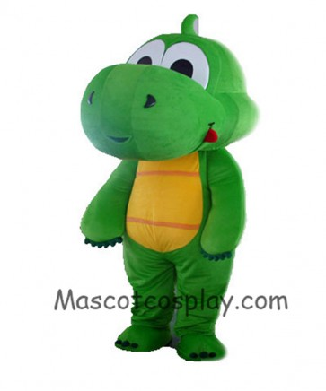 Grass Green Dragon Mascot Costume Adult Size Can Be Customized Mascot Costume