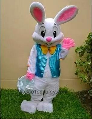 Easter Bunny Rabbit Mascot Costume Fancy Dress Cartoon Suit