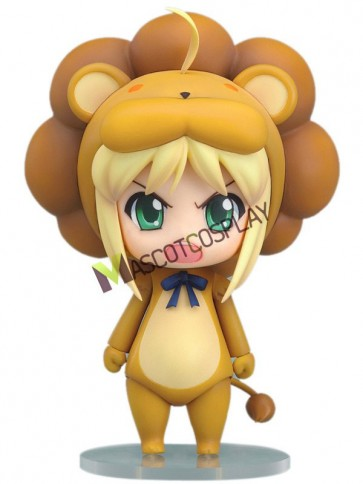 Fate Saber Lion Pattern PVC Anime Action Figure